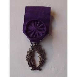 Médaille d'Officier des Palmes Académiques Vermeil