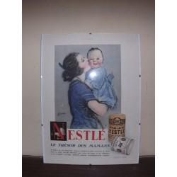 Affiche Pub Papier Nestlé 1930 par Barribal