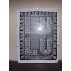 Affiche Pub Papier Lefevre Utile 1929
