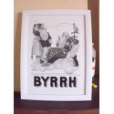 Affiche Pub Papier BYRRH 1937 par LG