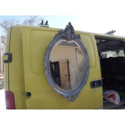 Glace miroir médaillon 19 ème stuck