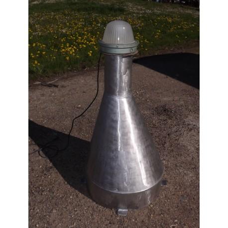 Lampe Industrielle Inox et Fonte