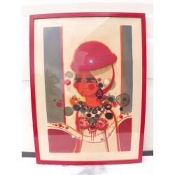 Lithographie Menguy Frédéric 1927-2007