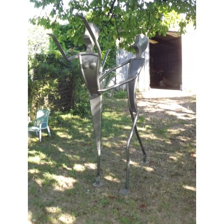 Sculpture Fer Forgé d'Yves Chadourne