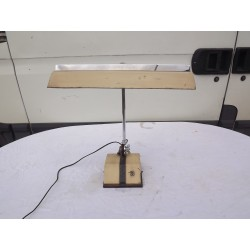 Lampe de Bureau Industrielle Année 50