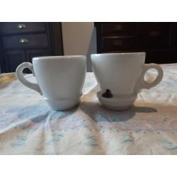 Paire de Tasses Brulot Orchamps Jura