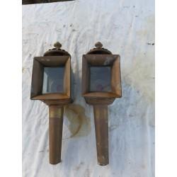 Paire de Lanternes Hippomobiles de Dion Bouton