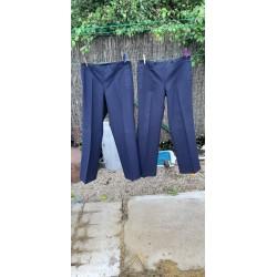 """Paire de Pantalons de la Marine Bleu Marine """" Brest """""""