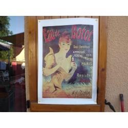 Affiche Pub Eau de Botot