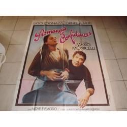 """Affiche de Cinema """" Romances et Confidences """""""