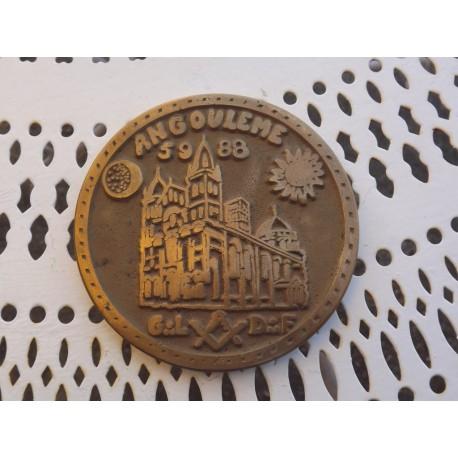 Médaille Bronze Franc-Maçonnerie
